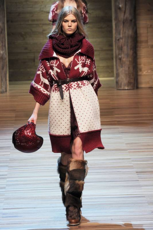 Городская мода вязание 77